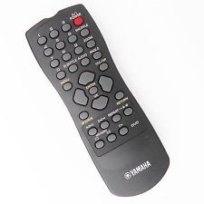Yamaha DVD-S510 Remote Control